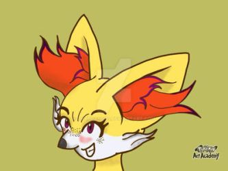 Super Kawaii Fennekin by Zahuranecs