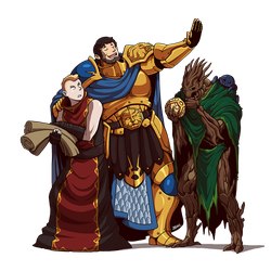 Questward: Kaladen, Phinneus and Eucalyphus by Blazbaros