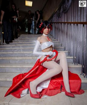Wedding Ryuko Matoi by MayaWolfman