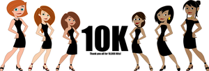 Thank You for 10,000 Views by Nikoagonistes