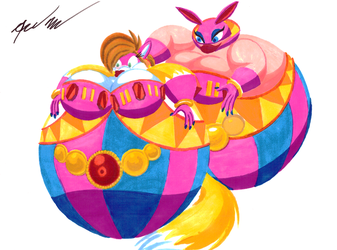 Puffy Nights Into Dreams by JulioMartell
