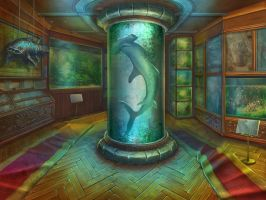 Ichthyology hall by julijuly