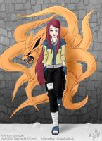 Kushina Uzumaki Coloring by Cuiusofcaelum