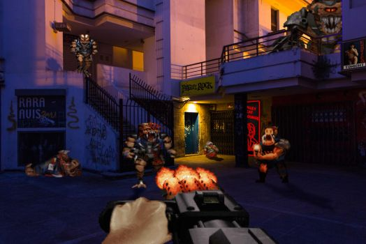 Real Bits - Duke Nukem 3D: Nightlife District by VictorSauron