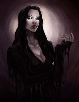 Morticia by juhaihai