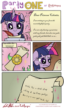Party of One by RedApropos