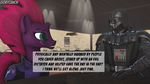 Darth And Tempest by goatcanon