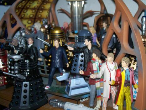 My Doctor Who toy collection 1 by DementedProductions
