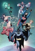 Justice League by J-Rayner