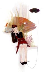 Rainee And Fish by LEKKER