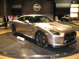 nissan GT-R concept by reika7