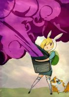 Adventure Time_ Fionna vs ? by Shinrai-92