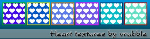 Textures: blue hearts. by SmediaDesign