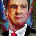 Jean Luc Melenchon by Angey-paint