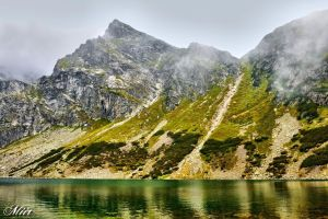 Mountains - Tatry - Czarny Staw by miirex