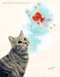 Goldfish Dreams by CallieFink