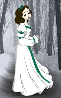 Snow White as Odette Colored by Shirekat