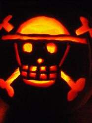 Straw Hats Pumpkin by Black-Destiny