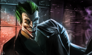 Joker: Arkham Origins by CalebP1716