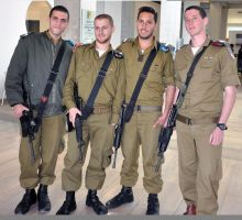 Young IDF soldiers, Yad Vashem by dpt56