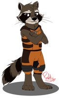Rocket by HufflepuffRave