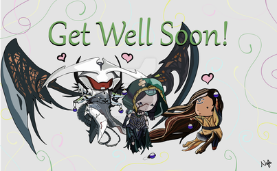 Get Well Soon! by Nefershep