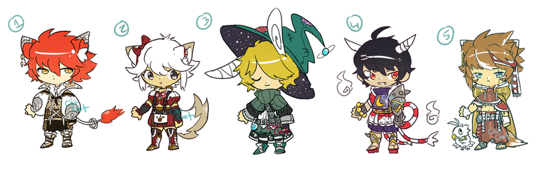 Small RPG batch - Auction (Open) by ChitChatCafe