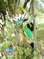 ELSWORD cosplay Rena Night Watcher NW dungeon by LilituhCosplay