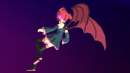 MMD - Teto's Chimera Wings -DL- by Anome-chan