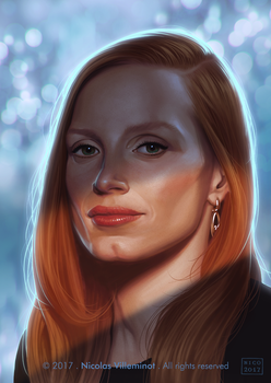 Jessica Chastain by ElectroNic0