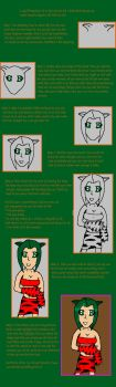 Cat Girl Tutorial by ThePrinceOfLove