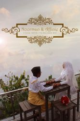 Noorman and Affinie Walimatul Urus by finieramos