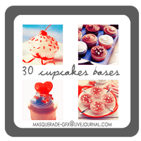 Icon Bases - Cupcakes 2 by deviantales