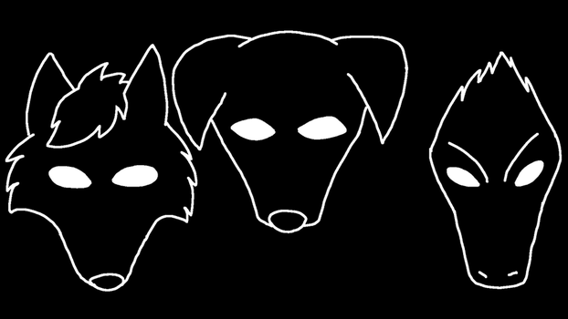 Dogs of the Hidden World:Character Chapter Symbols by PandaFilmsG
