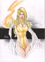 Emma Frost by Fredbenes