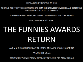 The Funnies Awards 2018 by defender2222