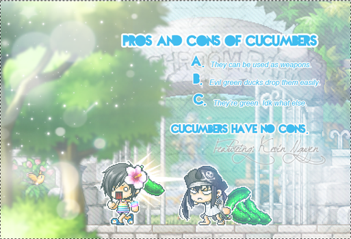 Cucumbers by Cyleni