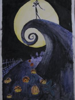 Nightmare Before Christmas by xxRagdoll-Lovexx