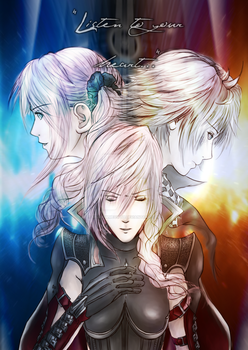 LR: FFXIII - Listen To Your Heart by ShadowMeowth