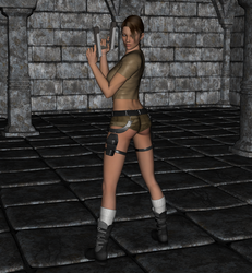 Tomb Raider - Lara Croft 4 by FatalHolds