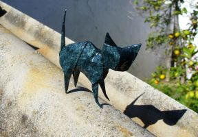 Black cat - Gato negro by Figuer