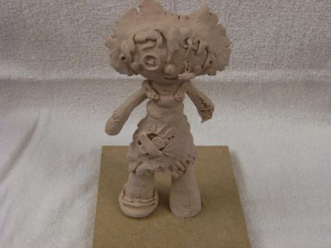 rag doll sculpture by meep-buster