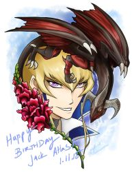 Happy Birthday Jack Atlas by slifertheskydragon