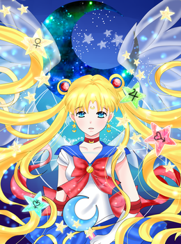 SAILOR MOON (mouse) by ryuuno309