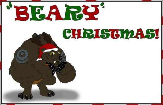 Beary Christmas by CausticKreature