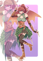 [OPEN AUCTION] Vamp Clan 05 by CemarAdopts
