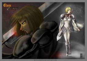 Clare - Claymore by AonikaArt