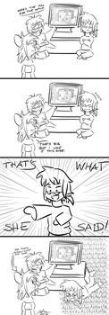 4koma: Predictable Joke by popfan95b