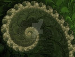 Green Spiral by rahulmukerji