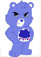 Care Bears:Grumpy by Saphira96